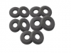 PLANTRONICS Black donut ear cushion for SupraPlus 10-pack. PN 40709-10