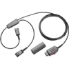 Plantronics Y-Training Cord With Mute And QD. 27019-03