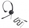 Monaural NC headset with direct connect cord for Shoretel phones